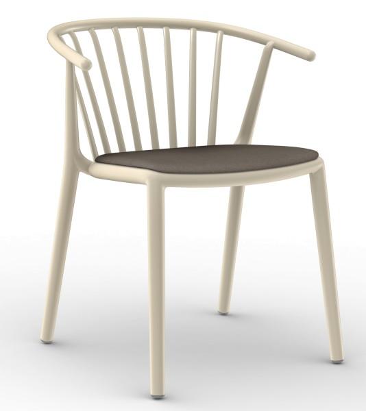 WOODY Stuhl mit Sitzpolster-Copy