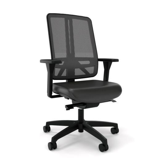 Flexi Bürodrehstuhl mit seitlicher Federkraft