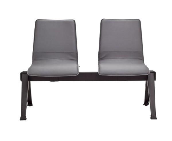 RIM Rewind Sitzbank mit 2-4 Sitzplätzen, Sitz- und Rückenlehne aus Kunststoff