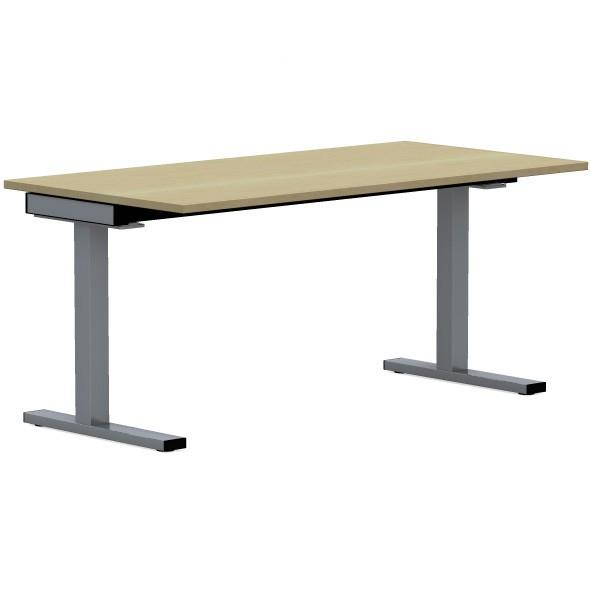 Schreibtisch SQart/E10 160x80 cm in ahorn