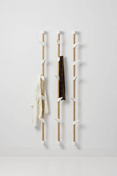 Cascando Design Wandgarderobe Bamboo wall