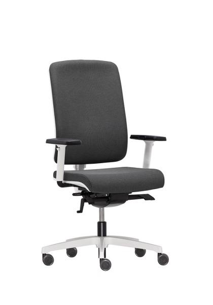 RIM Flexi Bürodrehstuhl mit gepolsterter Sitz- und Rückenlehne