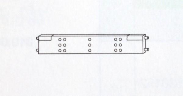 Querausfachung für Kunststoff-Schubfach, für Container Gera Möbel