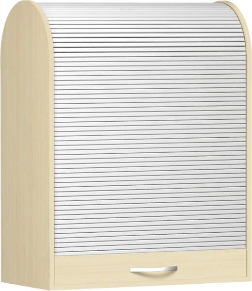 Aufsatzrollschrank Flex 2 Ordnerhöhen 80 x 40 cm Rollladenschrank Geramöbel