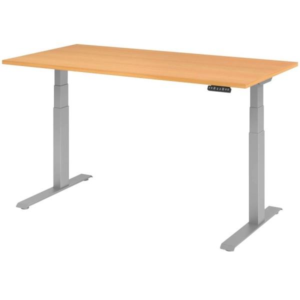 Elektrisch höhenverstellbarer Schreibtisch XDKB12, Höhe 64,0 - 129,0 cm