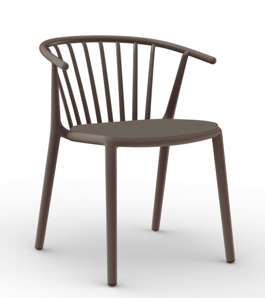 WOODY Stuhl mit Sitzpolster