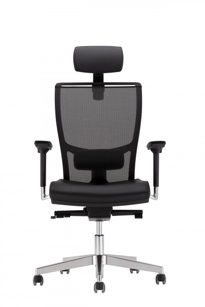 Z-Body Bürodrehstuhl mit Kopfstütze Design Nowy Styl