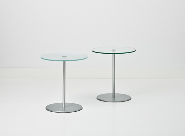 Cascando Design Beistelltisch Velvet - Höhe 50 cm Ø 45 cm