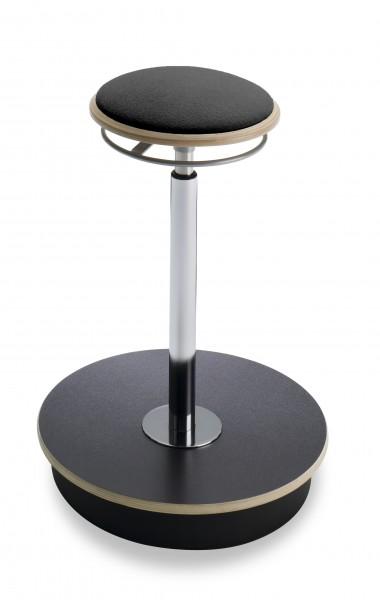 Sitz-/Steh-Hocker Belise in schwarz