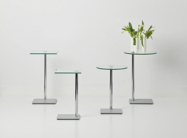 Cascando Design Beistelltisch Exxentrique - Höhe 60 cm Ø 40 cm