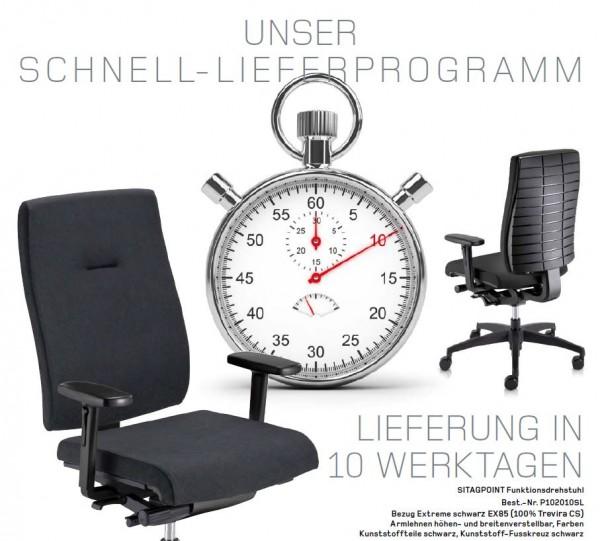 SITAGPOINT Bürodrehstuhl in schwarz