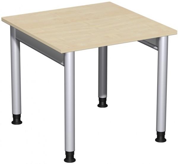 Schreibtisch Serie 4 Fuß Pro 80x80x68-82 cm Geramöbel