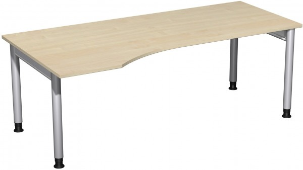 PC-Schreibtisch LI Serie 4 Fuß Pro 200x100x68-82 cm Geramöbel