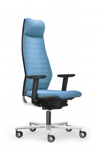 Design Bürodrehstuhl Rovo R 12 mit hoher Rückenlehne