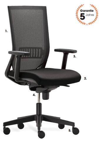 Rim Easy Pro Bürostuhl
