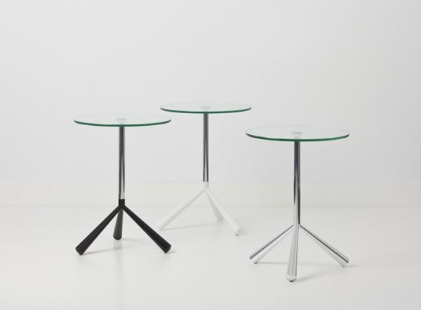 Cascando Design Beistelltisch Tripodi - Höhe 60 cm Ø 45 cm
