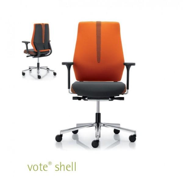 Vote Shell Bürodrehstuhl Design rohde & Grahl
