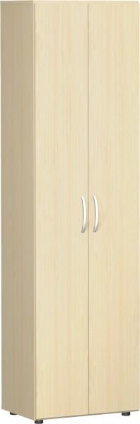 Garderoben - Flügeltürenschrank Flex 6 Ordnerhöhen 60 x 42 x 216 cm mit Justierfüßen, Türdämpfer u.