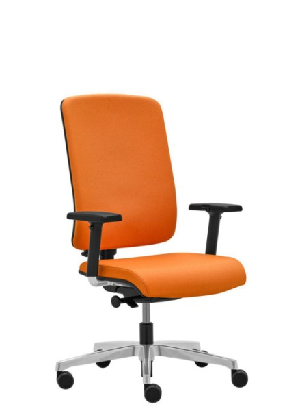 Flexi Vollpolster Bürostuhl mit seitlicher Federkraft