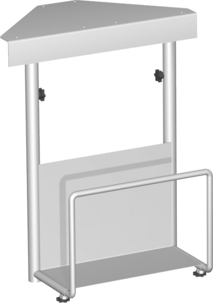 CPU-Halterung unter Tischplatte zu montieren B: 12,5 x 22,5 cm H: 47 x 52 cm Geramöbel
