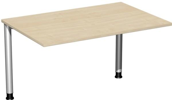 Schreibtisch höhenverstellbar Serie 4 Fuß Flex 120 x 80 x 68-80 cm Geramöbel