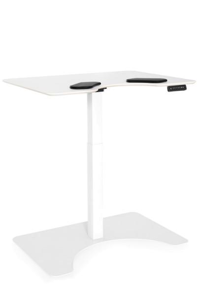 Elektrisch höhenverstellbarer Schreibtisch E-Desk Salli H: 70–119 cm