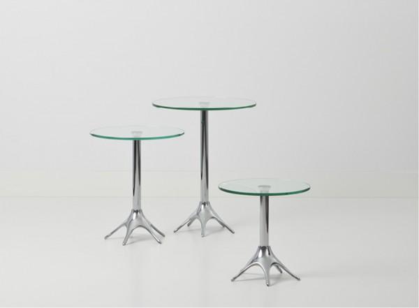 Cascando Design Beistelltisch ZaZa - Höhe 35 cm Ø 35 cm