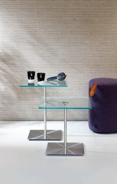 Cascando Design Beistelltisch Careo viereckig