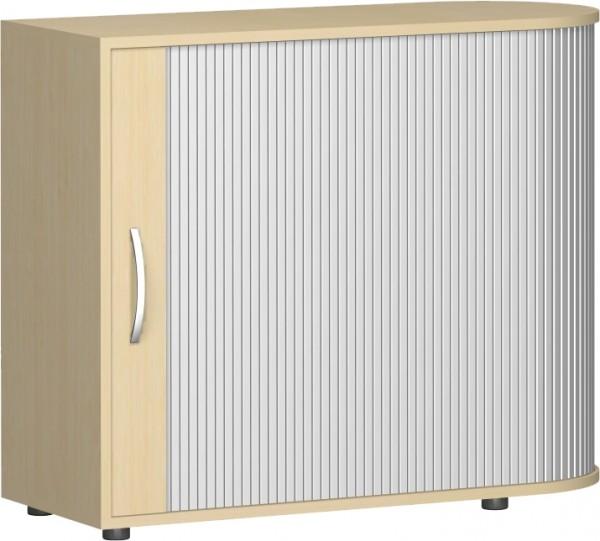 Rollladenschrank Flex rechts anstellbar 2 Ordnerhöhen 100 x 40 cm Rollschrank Geramöbel