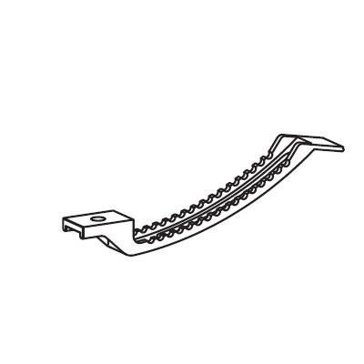 Kabelklemme unter Tischplatte zu montieren Geramöbel