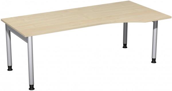 PC-Schreibtisch RE Serie 4 Fuß Pro 200x100x68-82 cm Geramöbel