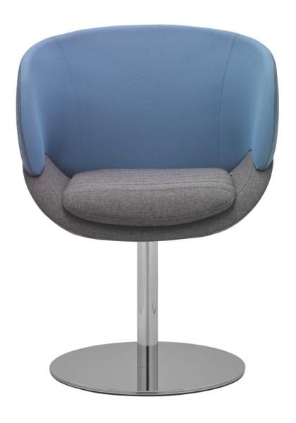 RIM Cava Loungesessel mit runder Fußplatte