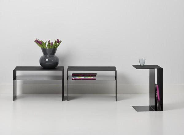 Cascando Design Beistelltisch U2 - 48x30x30 cm (HxBxT)