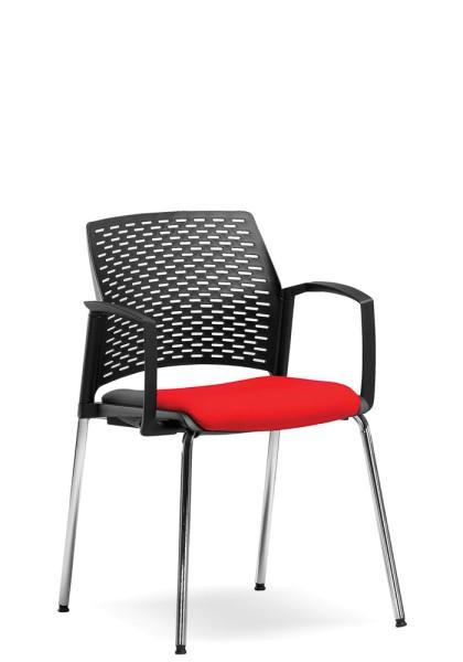 Rim Rewind Konferenzstuhl mit gepolsterten Sitz