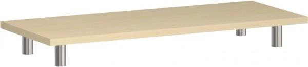 Schwebende Platte Aufsatzelement Flex für Schränke u. Regale mit einer Korpusbreite von 80 cm Geramö