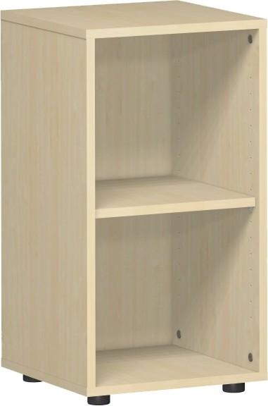 Regal 2 Ordnerhöhen 40 x 40 x 75,2 cm mit Justierfüßen Gera Möbel