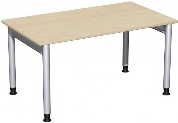 Schreibtisch Serie 4 Fuß Pro 140x80x68-82 cm Geramöbel