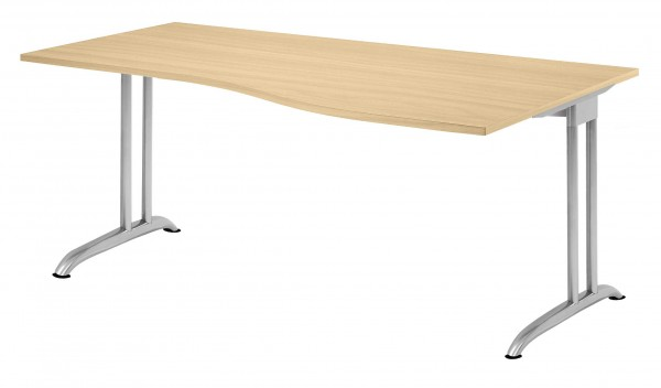 Tischsystem Ergonomic B-Serie 180x100 cm