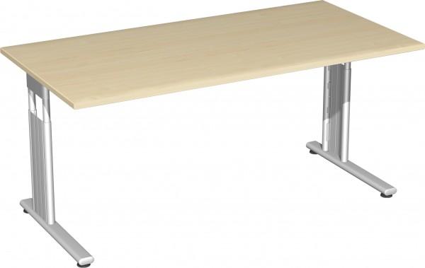 Schreibtisch höhenverstellbar Serie Flex (ehem. Lissabon) 160 x 80 x 68-80 cm Geramöbel