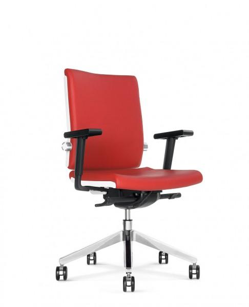 Belite 1213 Bürodrehstuhl mit höhenverstellbaren Armlehnen mit Soft-Armauflage Design bn OFFICE SOLU