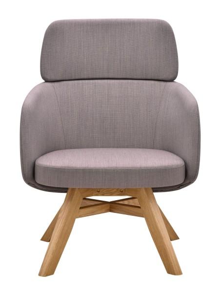 RIM Winx Lounge Sesssel mit Holzgestell