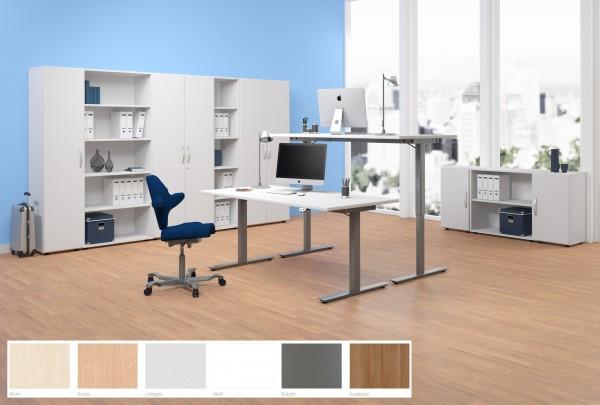 Schreibtisch Elektro Flex elektrisch höhenverstellbar 120x80x68-116 cm