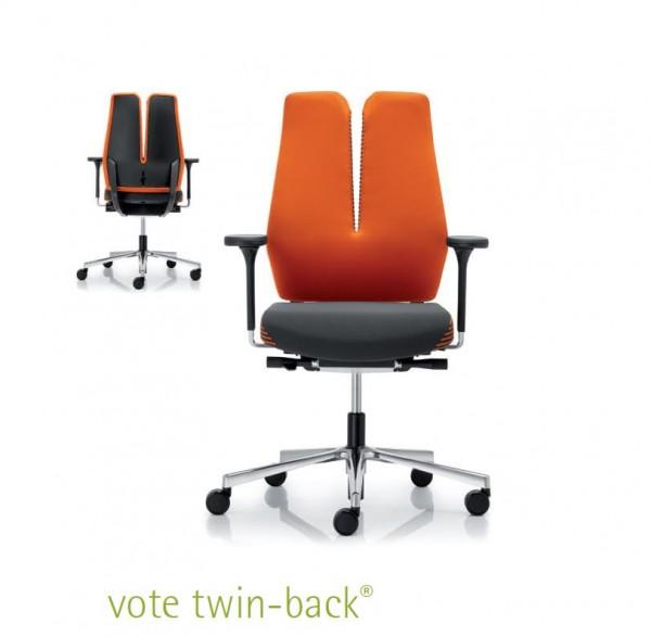 Vote Twin-Back Bürodrehstuhl Design rohde & Grahl