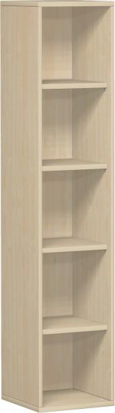 Regal Flex 5 Ordnerhöhen 40 x 40 x 180,8 cm mit Justierfüßen Geramöbel