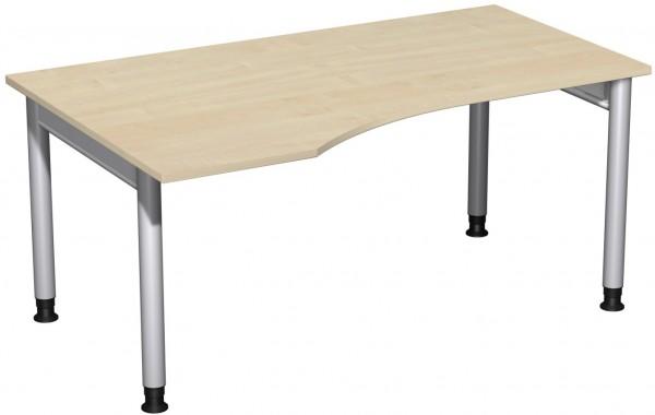 PC-Schreibtisch LI Serie 4 Fuß Pro 160x100x68-82 cm Geramöbel