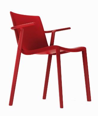 Stapelstuhl Kat Design Stuhl mit Armlehnen Vilagrasa