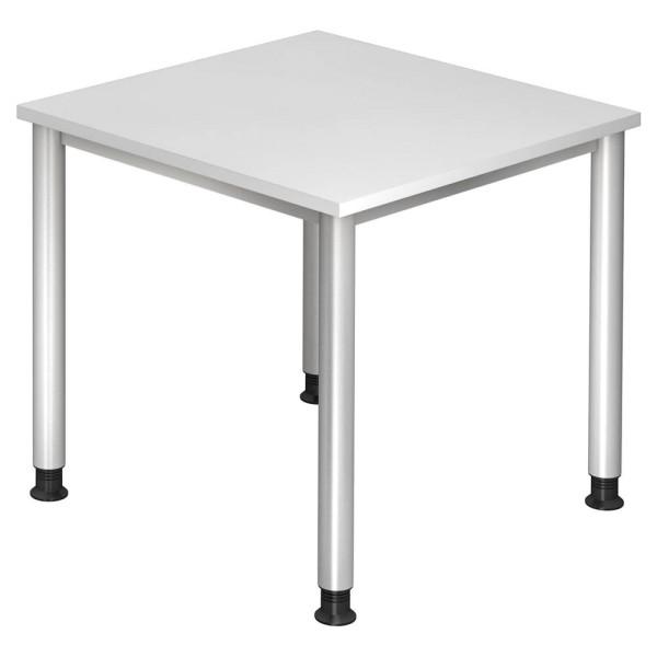 Höhenverstellbarer Schreibtisch Orbis auf 4-Fuß-Gestell, Höhe 68,5 - 76,0 cm
