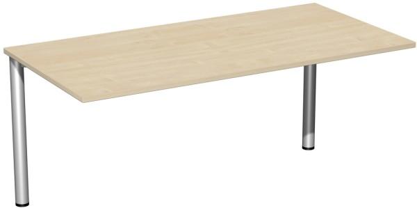 Schreibtisch Serie 4 Fuß Flex 160 x 80 x 72 cm Geramöbel