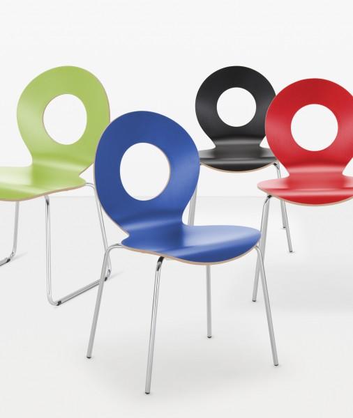 Holzstuhl Cafe IX Design Nowy Styl