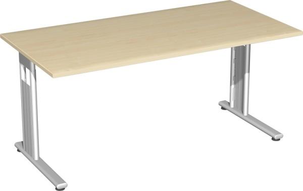 Verkettungs-Schreibtisch höhenverstellba links u. rechts verkettbar Serie Flex (ehem. Lissabon) 160